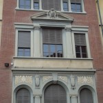 Finestre liberty Scuola Silvio Pellico